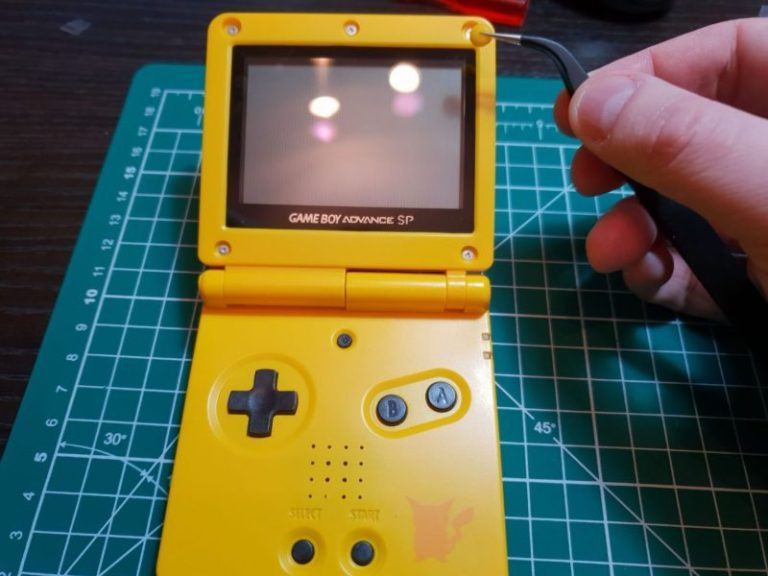 HOW TO SHELL A GBA SP
