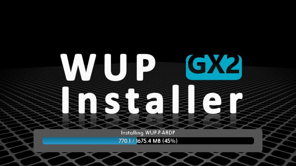 wup installer gx2 wii u guide