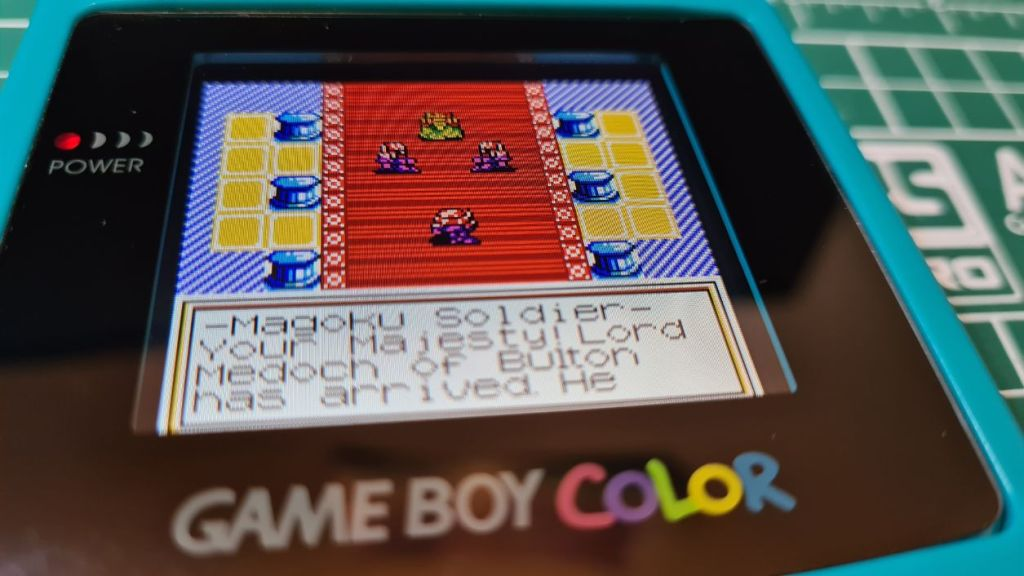 Backlit Game boy color guide