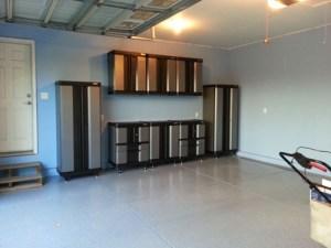 Gabinetes de Metal en el garaje