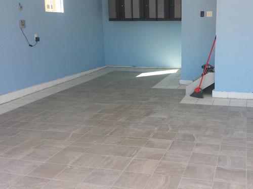 Instalaci n de piso de porcelanato en nuestro nuevo garaje - Pisos nuevos en carabanchel ...