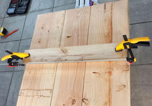 Encimera para escritorio de madera