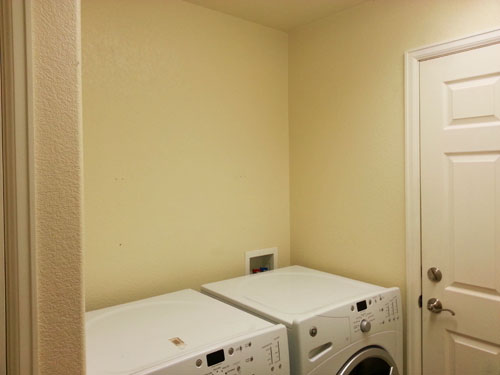 Laundry Room with no storage