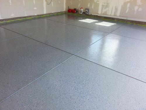 Applying an Epoxy floor coating to my garage floor