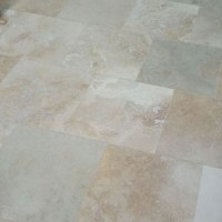 Improving the Kitchen: Laying Travertine Tile Flooring