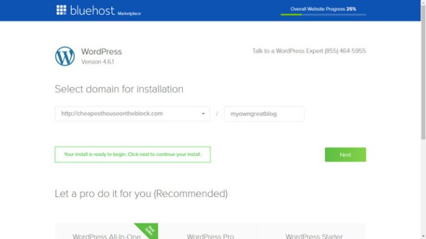 WordPress Installation Procedure