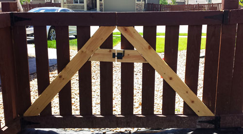 crafting a wood-fence-gate