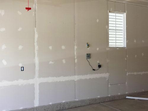 Drywall for garage walls