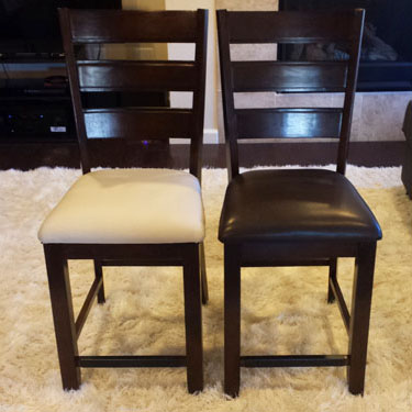 Reupholstering Dining Room Chairs, An Easy And Inexpensive ...