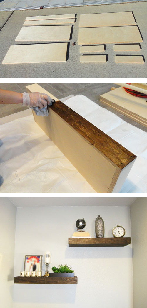 Building Your Own Floating Shelves Here S An Easy Way To
