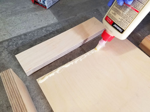 Wood to build a shelf