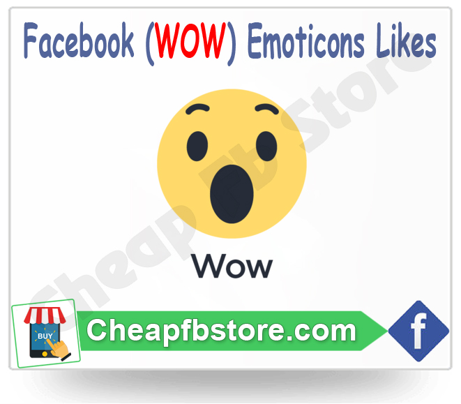 Buy wow Facebook Emoticons Post Likes