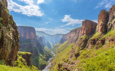 Visit Lesotho Where The Skies Are Led By The High Peaks