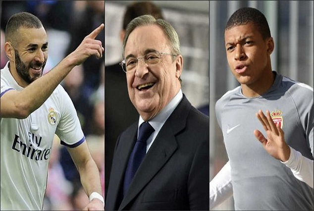 Everything Is Possible - Perez Considers Pairing Benzema ...