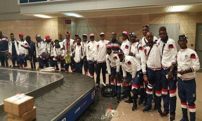 Ifeanyi Ubah Fc Arrive Egypt Ahead Of Their Crucial Second Leg Tie 4