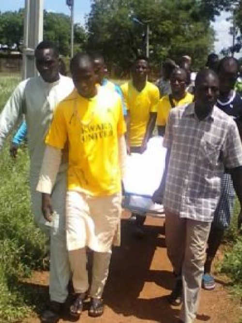 Burial Photos Of Kwara Utd Player Who Slumped & Died In Training 10