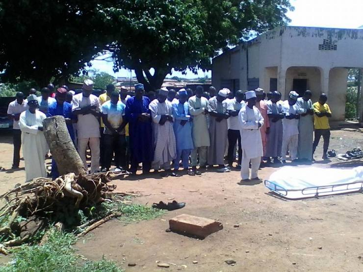 Burial Photos Of Kwara Utd Player Who Slumped & Died In Training 12