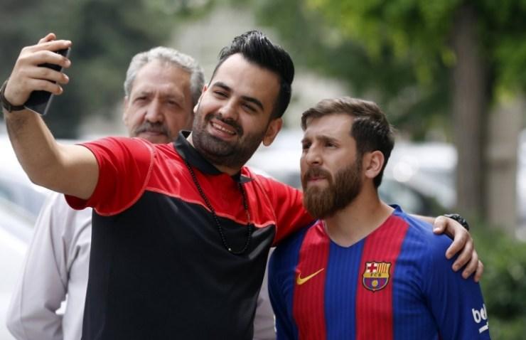 Reza Parastesh, Lionel Messi Lookalike Arrested In Iran 18