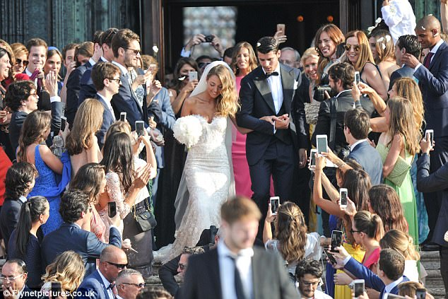 Morata Took A Break From Transfer Talks To Tie The Knot With Alice Campello 12