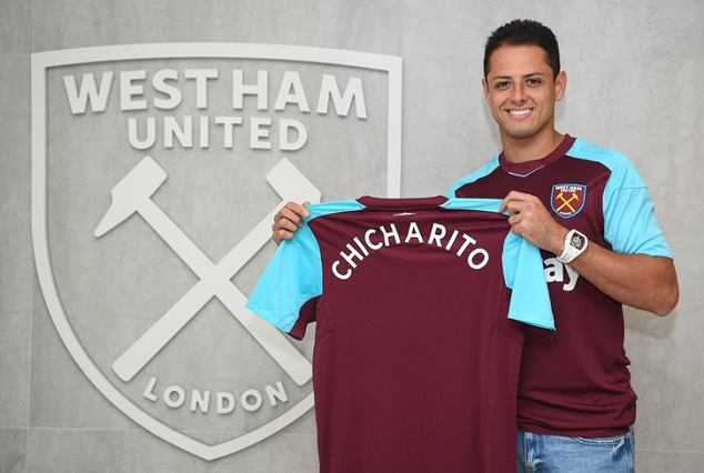 Official: Mexican Star Chicharito Joins West Ham In A Deal Worth £16m