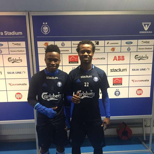 Patrick Twumasi Secure Goal No 7 , While Annan And Evans Put HJK Helsinki Out Of Europa Misery 4
