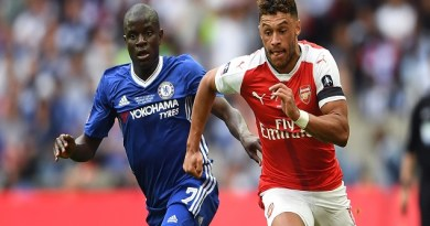 Antonio Conte Sets Sight On Alex Oxlade-Chamberlain