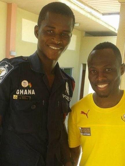 Ghanaian Police Officer Samuel Sarfo Finally Makes Black Stars Debut 4
