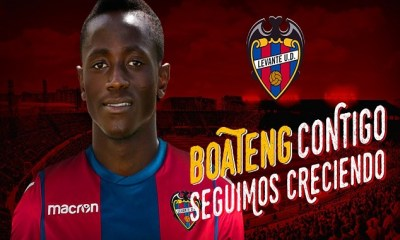 Official: Levante UD Secure Signing Of Ghanaian Striker On A Four Year Deal 4