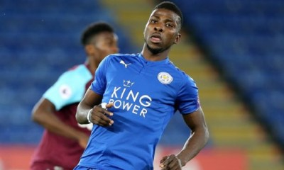 Leicester City Celebrate Kelechi Iheanacho At 21 2