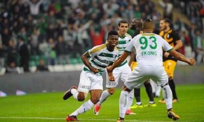 Bursaspor Midfielder Mikel Agu Rated Best Player In Turkish League Team Of The Week 4