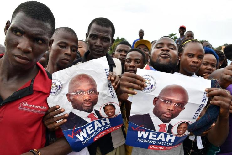 Liberia Election ! Former 'Ballon D'Or Winner' George Weah Wins Liberia Presidential Election 10