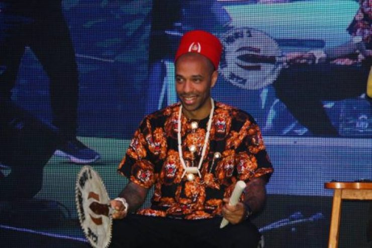 Arsenal Legend Thierry Henry Crowned Igwe In Nigeria, Unveiled As Guinness Ambassador 6