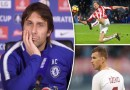 Antonio Conte Back Chelsea's Transfer Policy Amid Surprise Dzeko, Crouch & Carroll Links