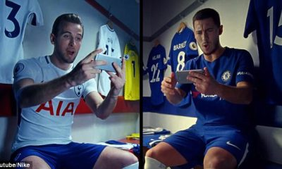 Harry Kane And Eden Hazard Feature In A Star-Studded New Nike Advert Set In London 17