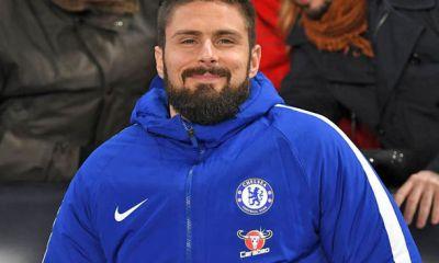 Oliver Giroud Anticipating Chelsea Challenge 2