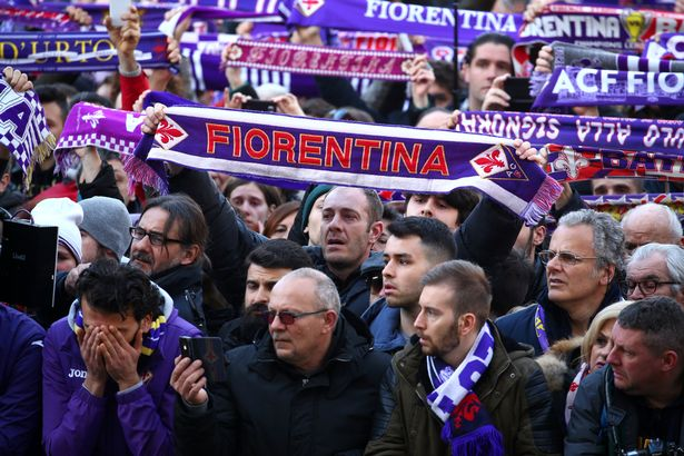 Davide Astori Funeral: Thousands Of Fans Pay Tribute 13