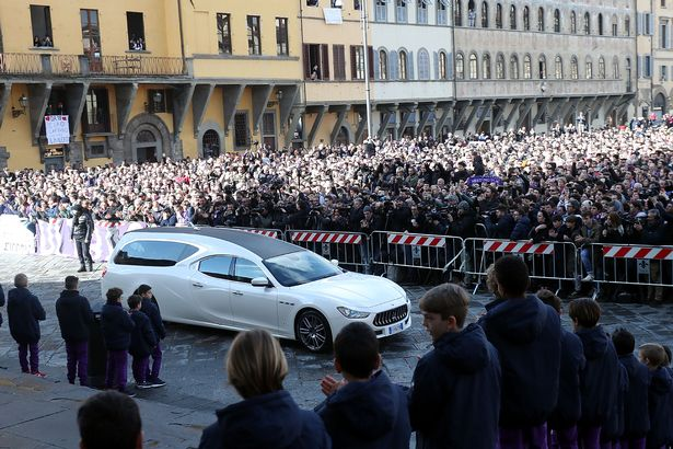 Davide Astori Funeral: Thousands Of Fans Pay Tribute 10