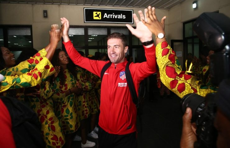 Atlético Madrid Arrive Uyo For Super Eagles Friendly Clash 21