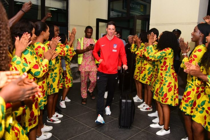 Atlético Madrid Arrive Uyo For Super Eagles Friendly Clash 20