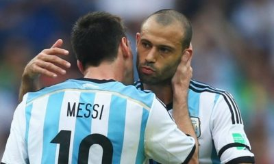 Russia 2018 : Lionel Messi Is Desperate To Punish Nigeria On Tuesday - Mascherano 6