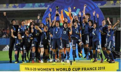 Champions : Japan Wins First Ever U20 Women World Title 2