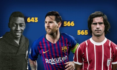 Lionel Messi, And His Passionate Quest To Dethrone The King Of Goals 31