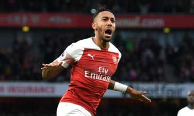 Keep Scoring ! Don't Stop - Emery Challenges Aubameyang To Finish As EPL Top Scorer 4