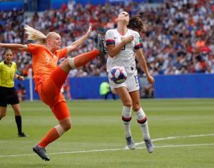 U.S. Women's Soccer Team Wins 2019 World Cup 13
