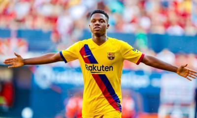 Ansu Fati: Barcelona Record Breaking Lad 4