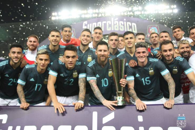 Lionel Messi Finally Wins An International Trophy, As His Lone Goal Sinks Arch-Rival 4