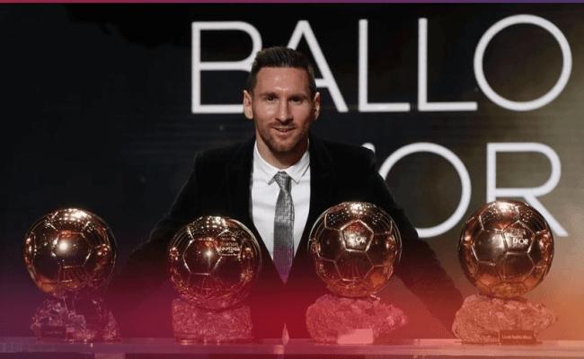 Ballon D Or 2019 Lionel Messi Beats Van Vijk Ronaldo To