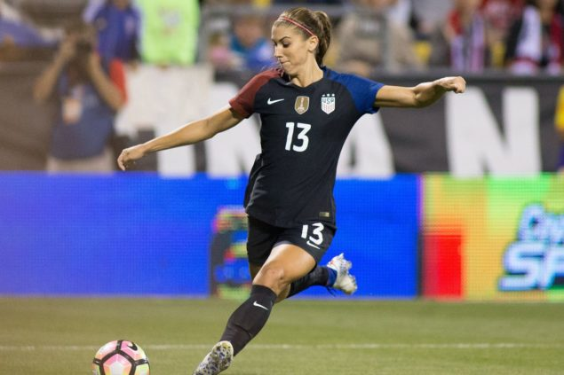 Alex Morgan: The American Soccer Darling Who Grew Through College Into A Superstar