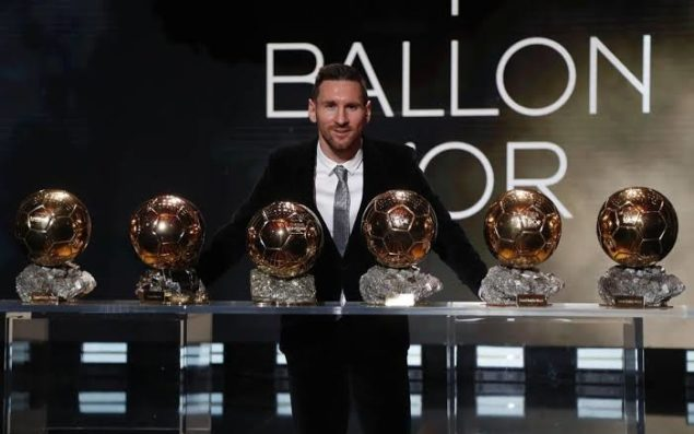 Ballon d'Or: The Annual Award For Footballers ; List Of Winners From 1956 - 2019