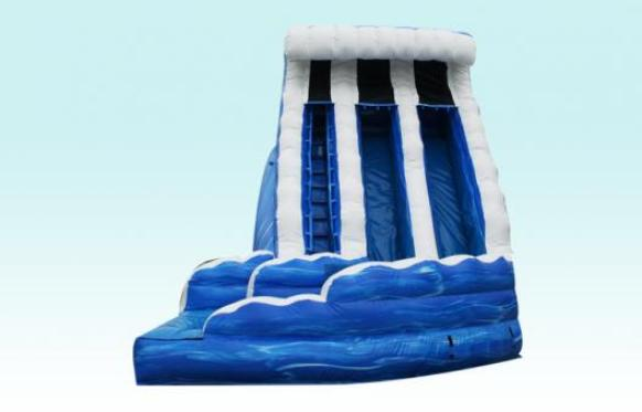 Ocean Wave Slide Inflatable